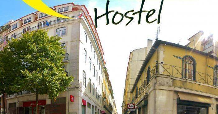 backpacker hostel in Lisbon
